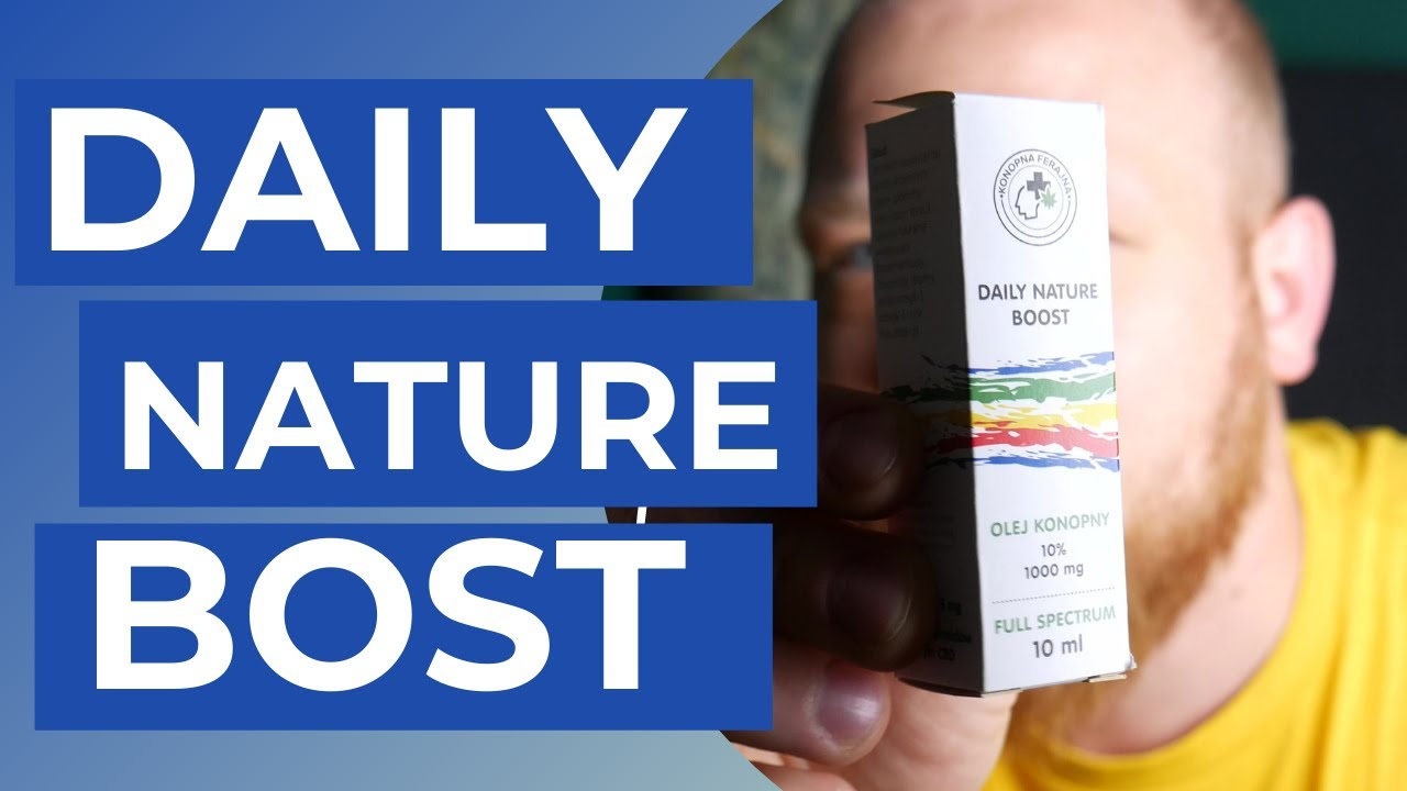 Daily Nature Boost 🧴 - Co To Takiego?🧠